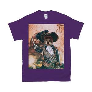 'The Pirate' Personalized Pet T-Shirt