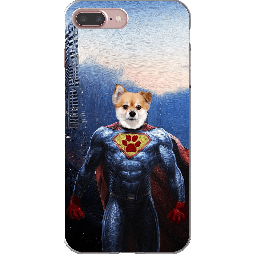 'Super Dog' Personalized Phone Case