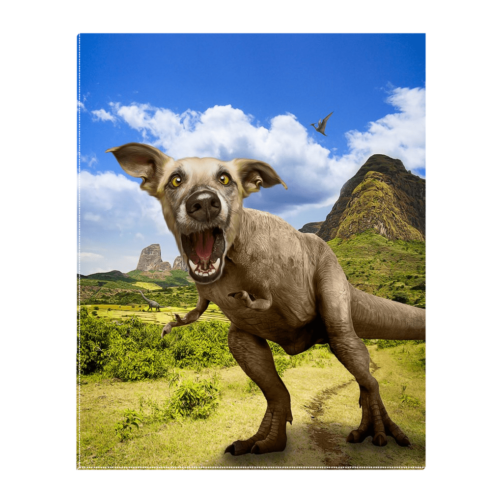 'Pawasaurus Rex' Personalized Pet Standing Canvas