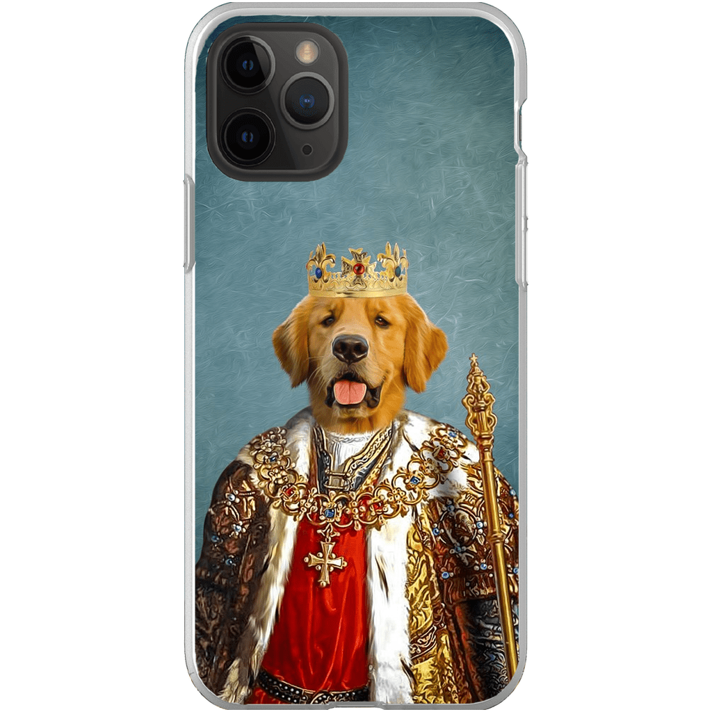 'The King' Personalized Phone Case