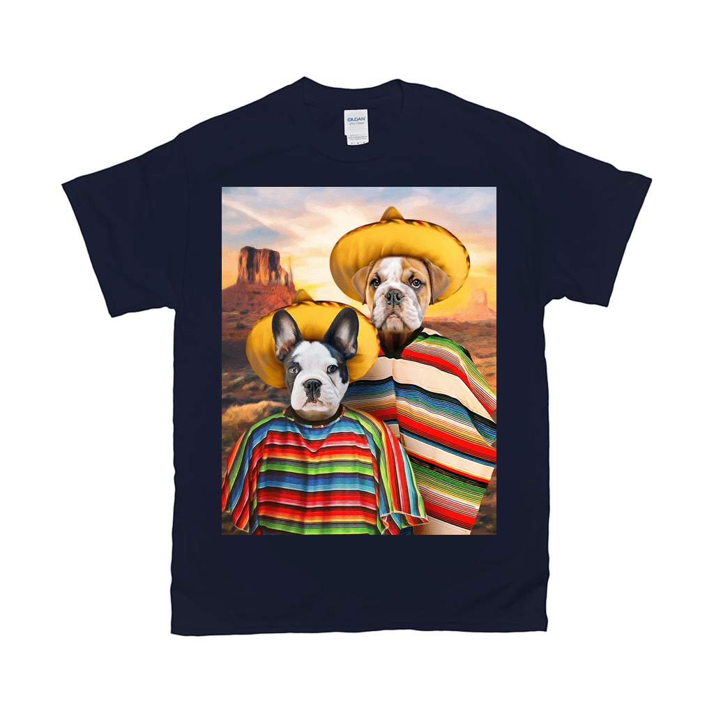'2 Amigos' Personalized 2 Pet T-Shirt