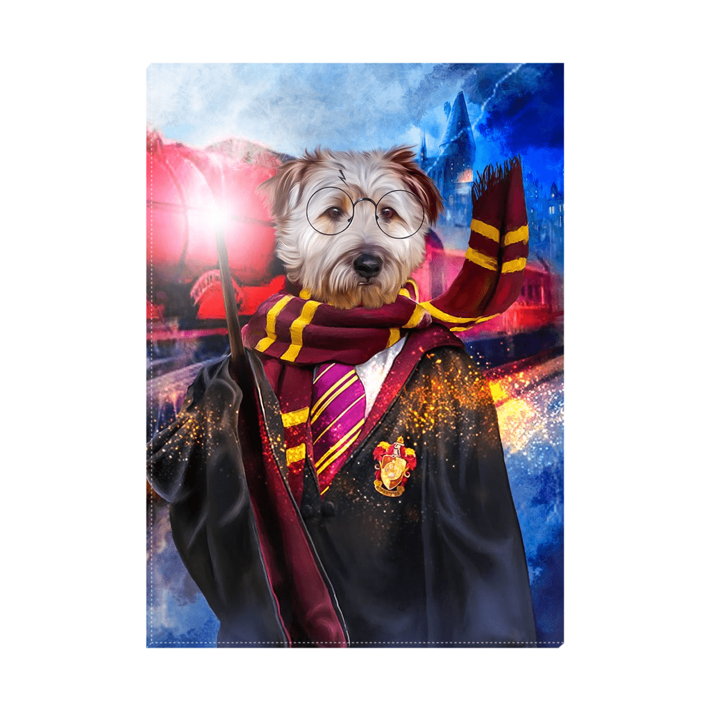 'Harry Dogger' Personalized Pet Standing Canvas