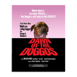 'Dawn of the Doggos' Personalized Pet Standing Canvas