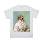 'The Pearled Dame' Personalized Pet T-Shirt