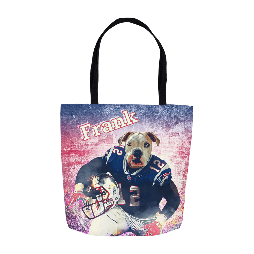 'New England Doggos' Personalized Tote Bag