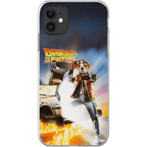 'Bark to the Future' Personalized Phone Case