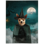'The Witch' Personalized Pet Blanket