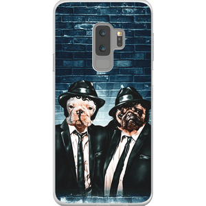 'The Blues Doggos'  Personalized 2 Pet Phone Case