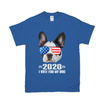 '2020 I Vote For My Dog' Personalized Pet T-Shirt