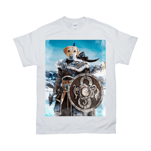 'Viking Warrior' Personalized Pet T-Shirt