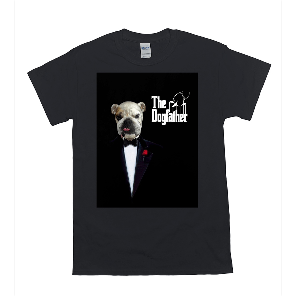 'The Dogfather' Personalized Pet T-Shirt