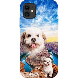 'Majestic Canyon' Personalized Pet Phone Cases