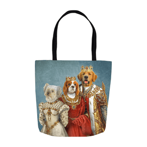 'The Royal Family' Personalized 3 Pet Tote Bag