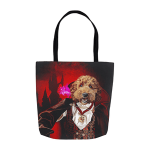 'The Vampire' Personalized Tote Bag