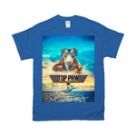 'Top Paw' Personalized Pet T-Shirt