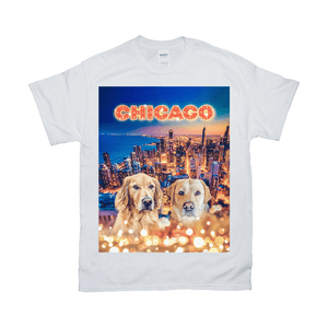 'Doggos Of Chicago' Personalized 2 Pet T-Shirt