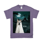 'The Ghost' Personalized Pet T-Shirt