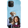 'Step Doggo & Human(Female)' Personalized Phone Case