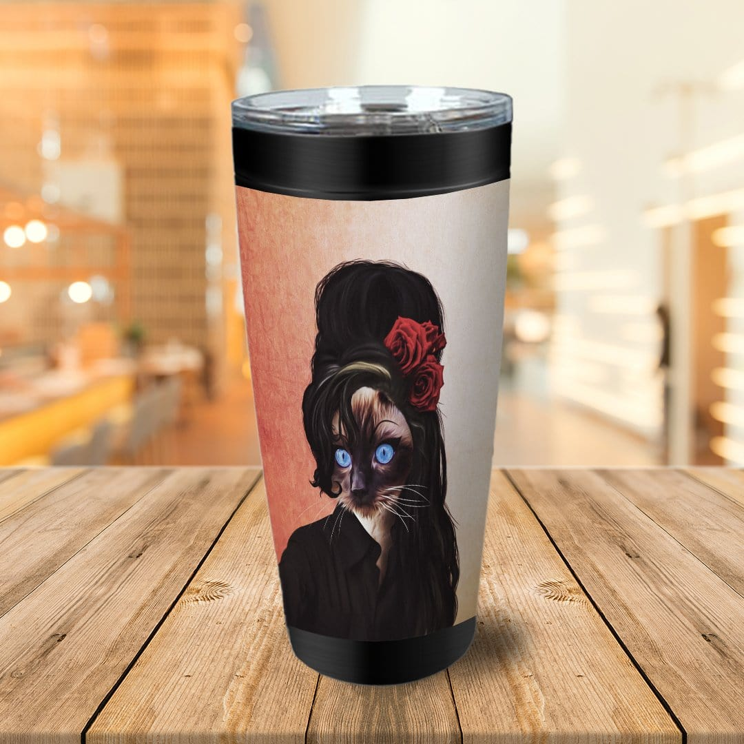 Amy Cathouse Personalized Tumbler