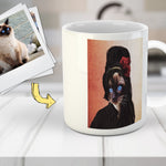'Amy Cathouse' Custom Pet Mug