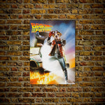 'Bark to the Future' Personalized Dog Poster