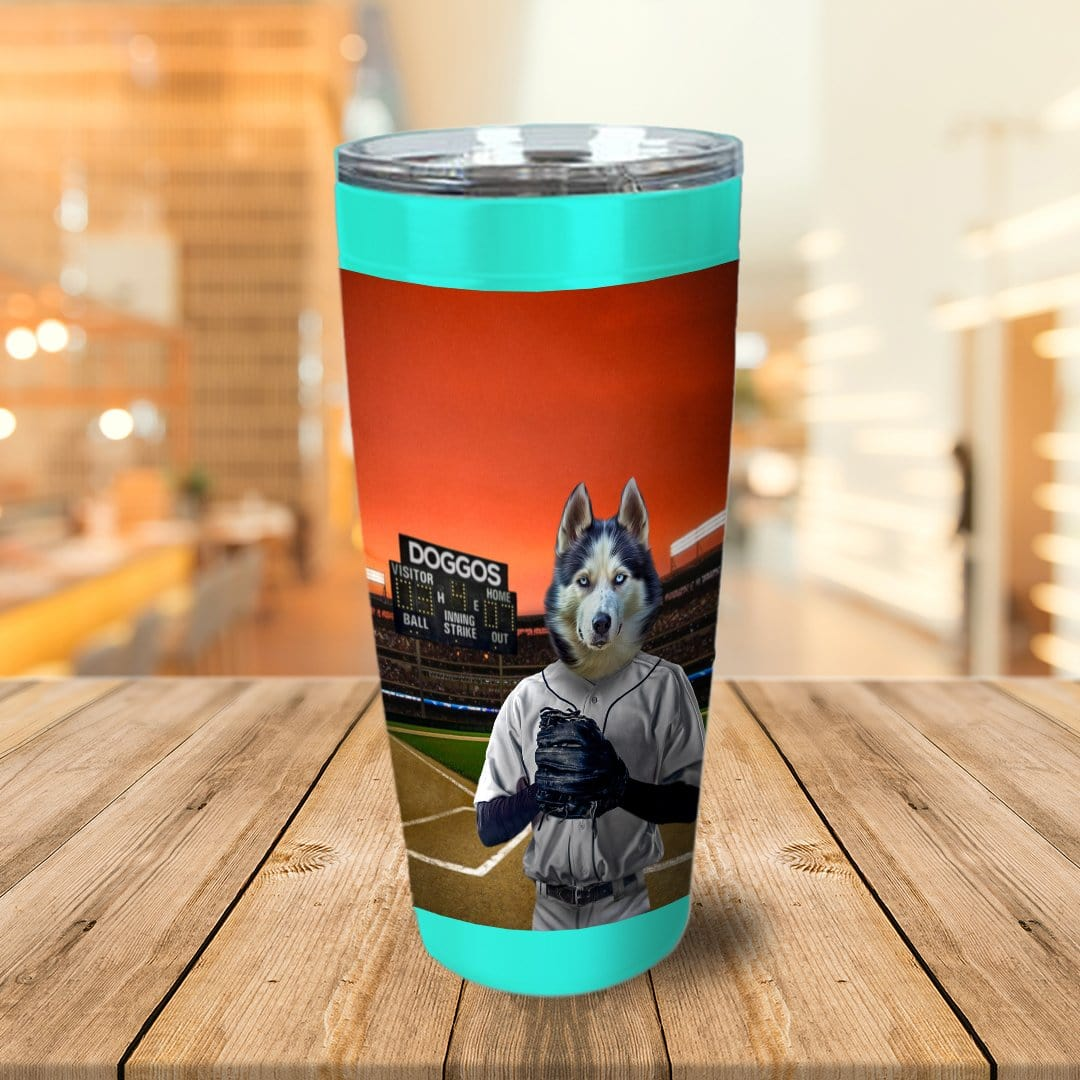 'The Baseball Player' Personalized Tumbler