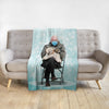 'Bernard and Pet' Personalized Blanket