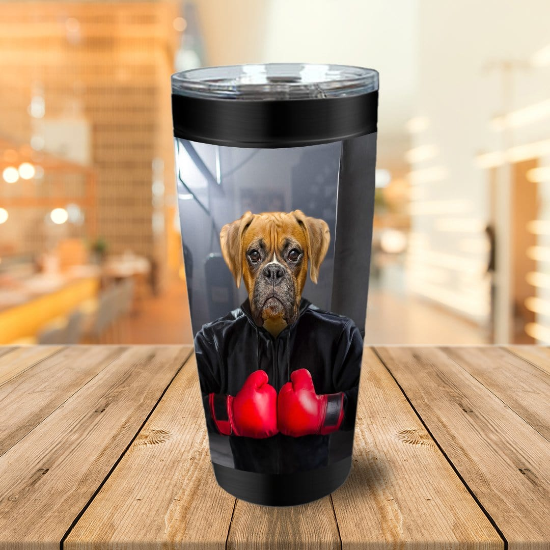 'The Boxer' Personalized Tumbler