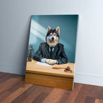 'The Lawyer' Personalized Pet Canvas