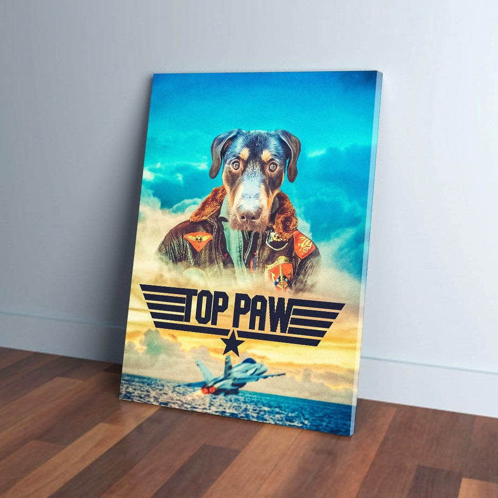 'Top Paw' Personalizable Pet Canvas