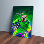 'Seattle Doggos' Personalized Dog Canvas
