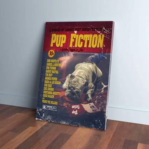 Pup Fiction: Personalized Canvas