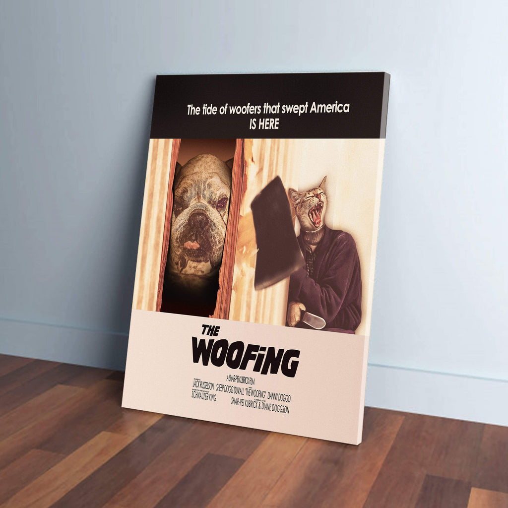 The Woofing: Personalized 2 Pet Canvas