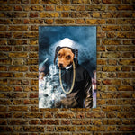 'D.O. Double G' Personalized Dog Poster