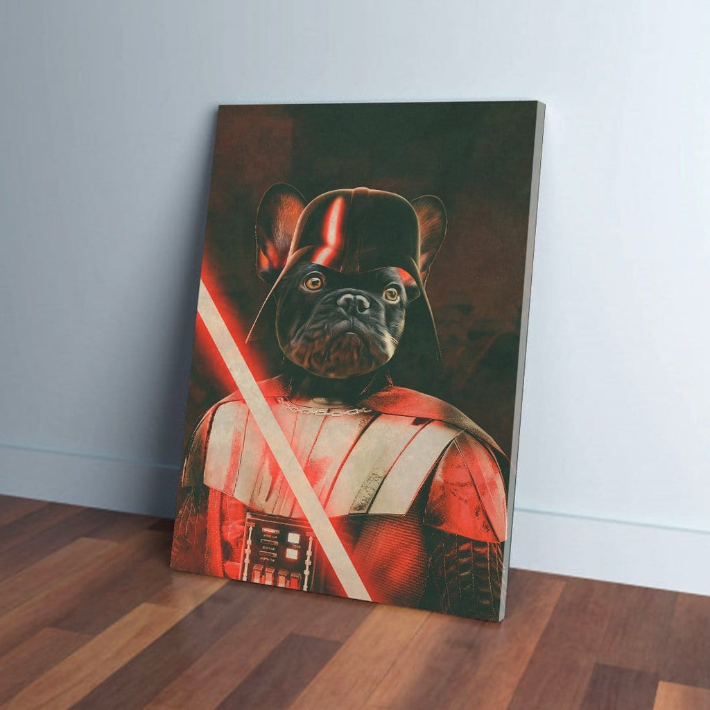 'Darth Woofer' Personalized Pet Canvas