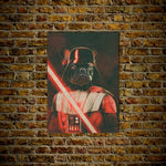 Darth Woofer Personalized Dog Poster