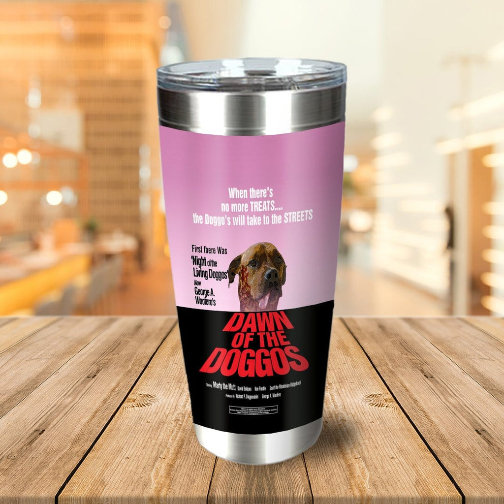 Dawn Of The Doggos Personalized Tumbler