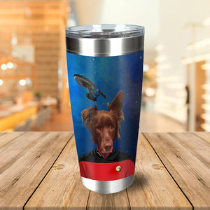 Doggo-Trek Personalized Tumbler