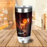 Dogpocalypse Now Personalized Tumbler