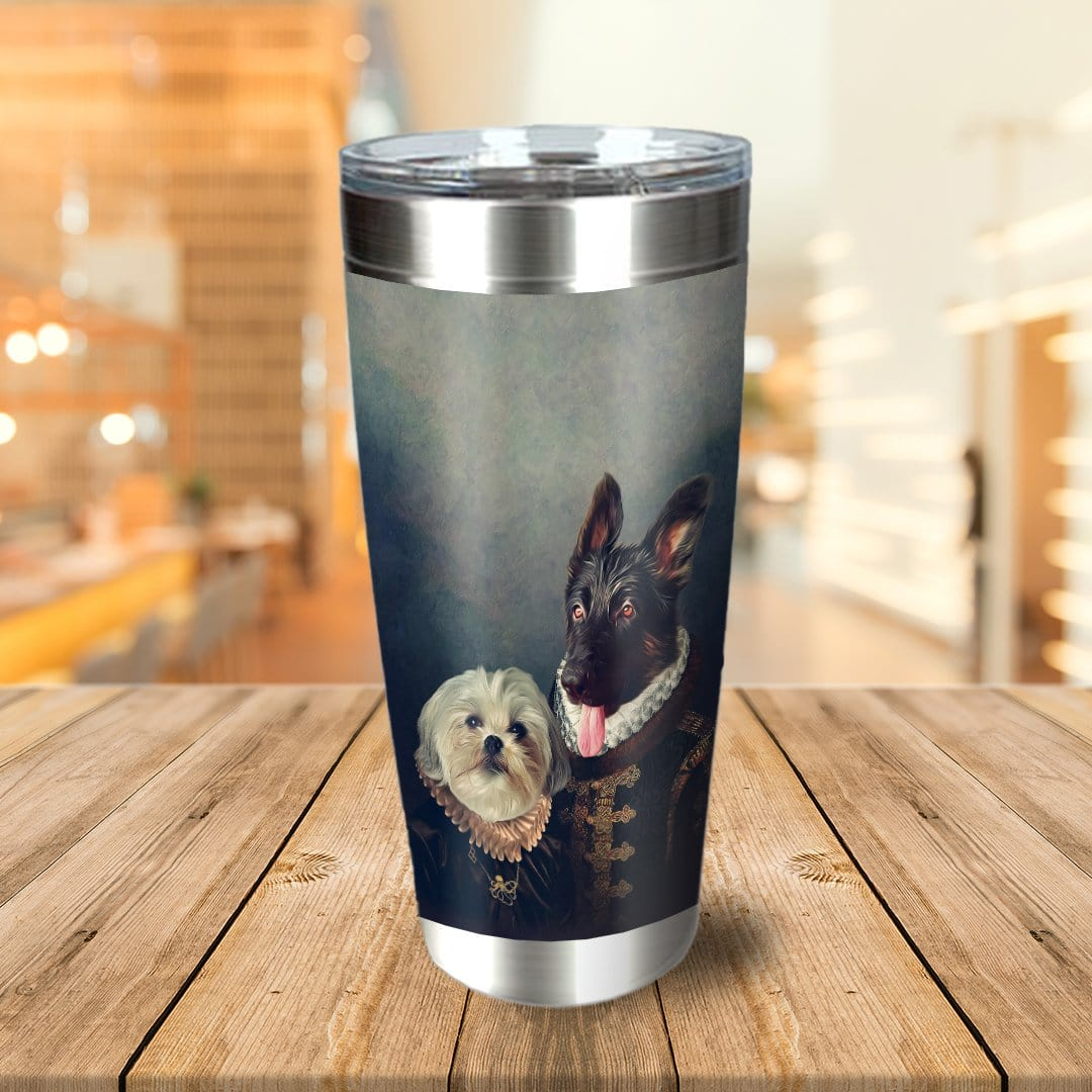 Duke and Duchess Personalized 2 Pet Tumbler