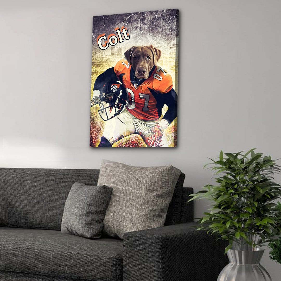 'Denver Doggos' Personalized Pet Canvas