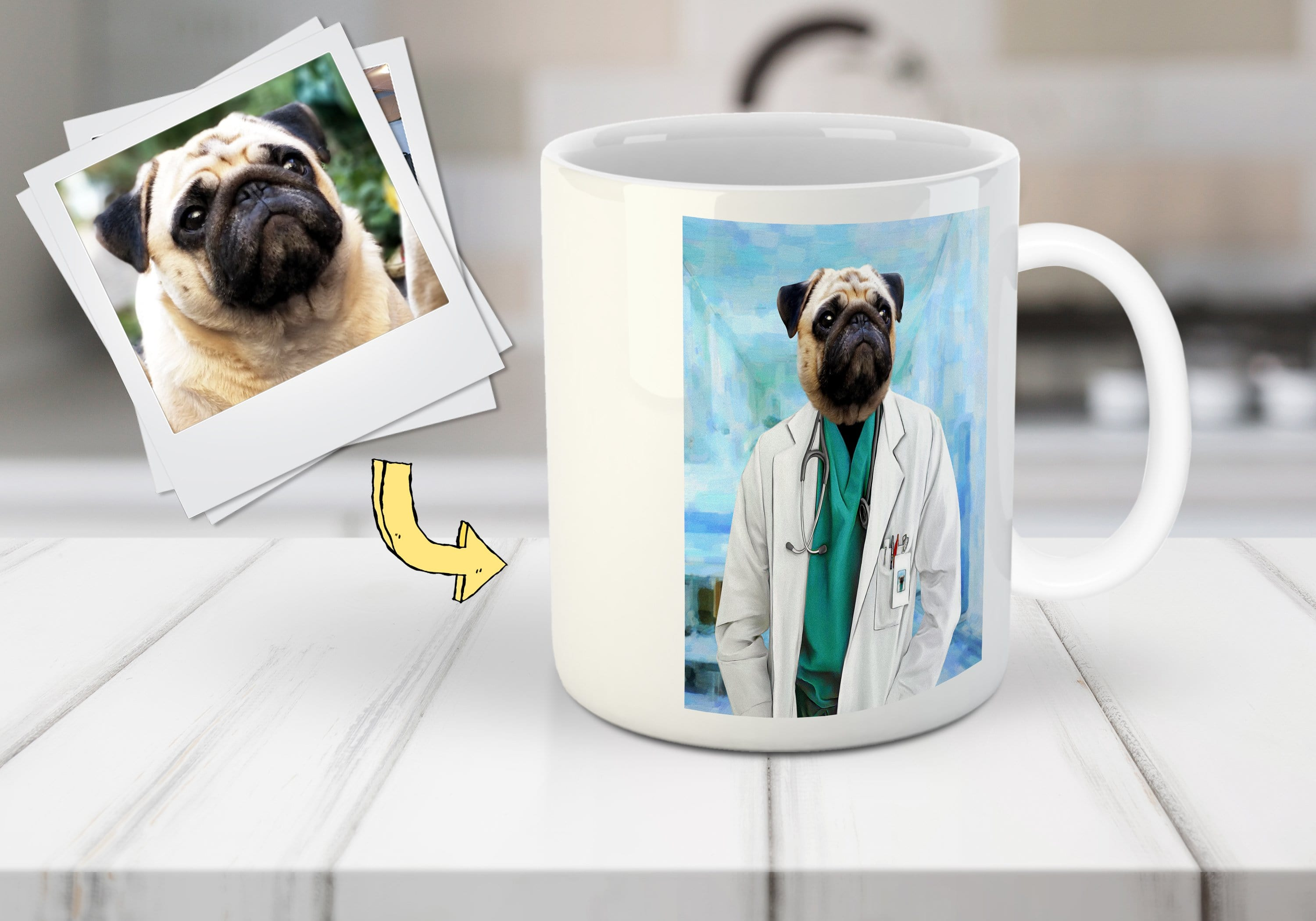 'The Doctor' Custom Pet Mug