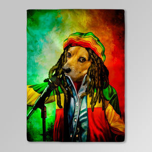 'Dog Marley' Personalized Pet Blanket
