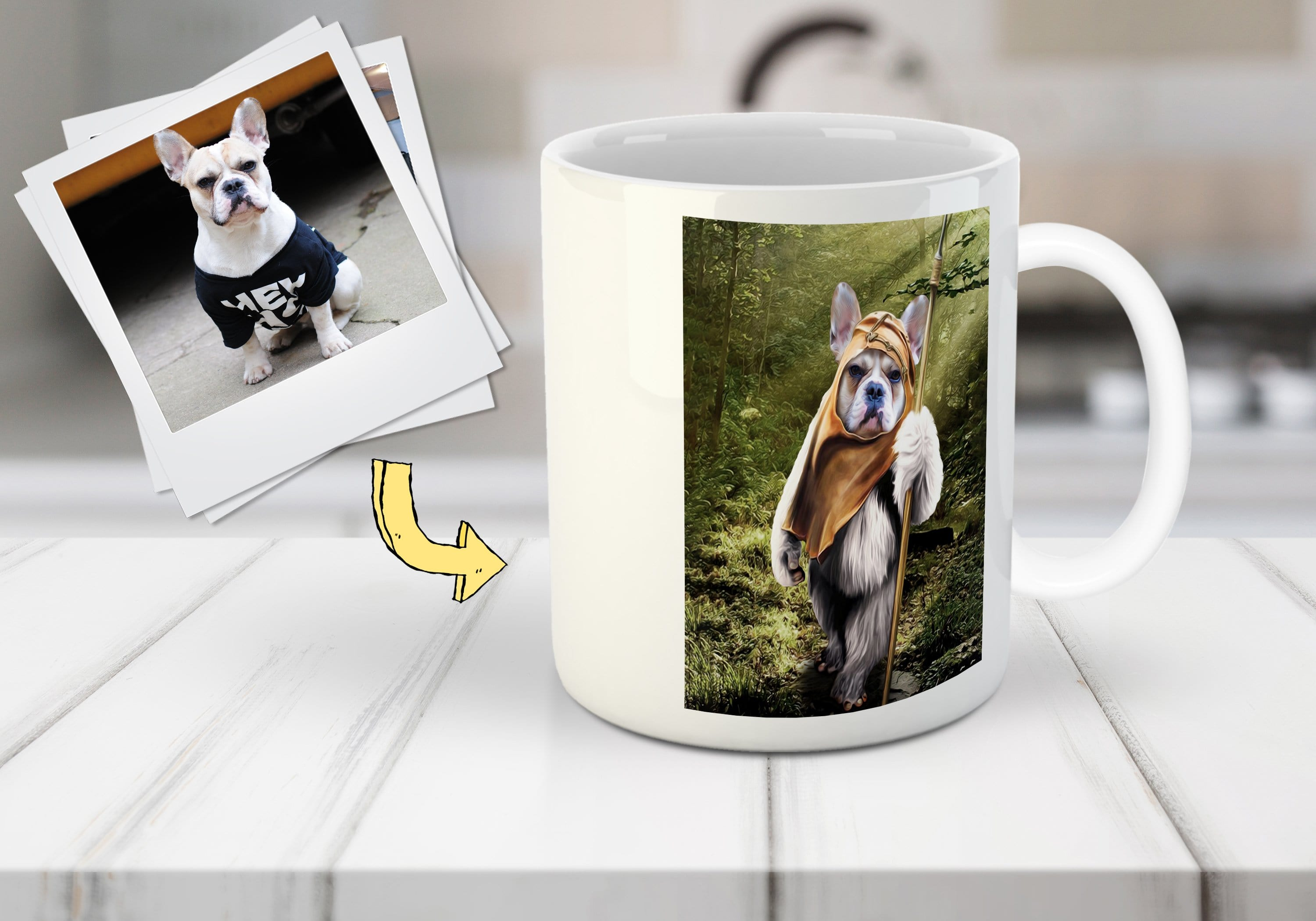 'Dogg-E-Wok' Custom Dog Mug