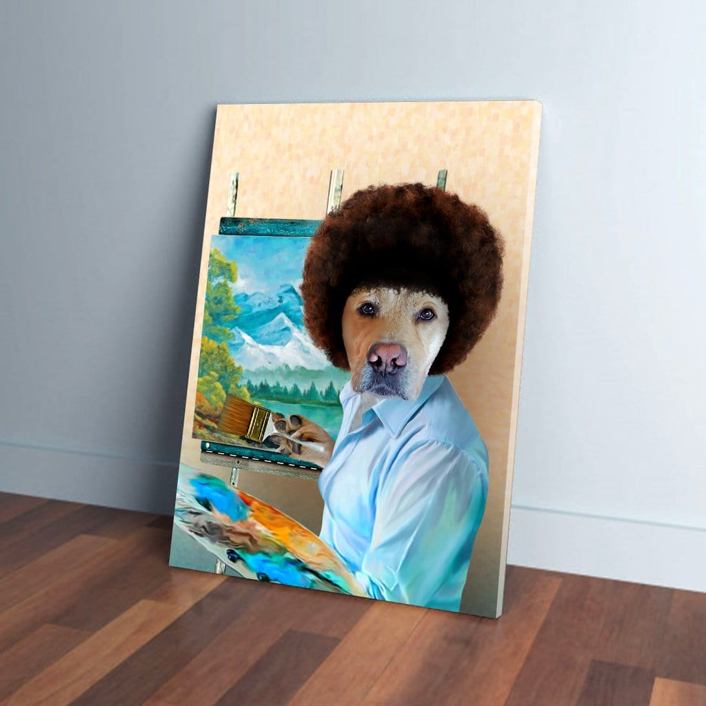 'Dogg Ross' Personalized Pet Canvas