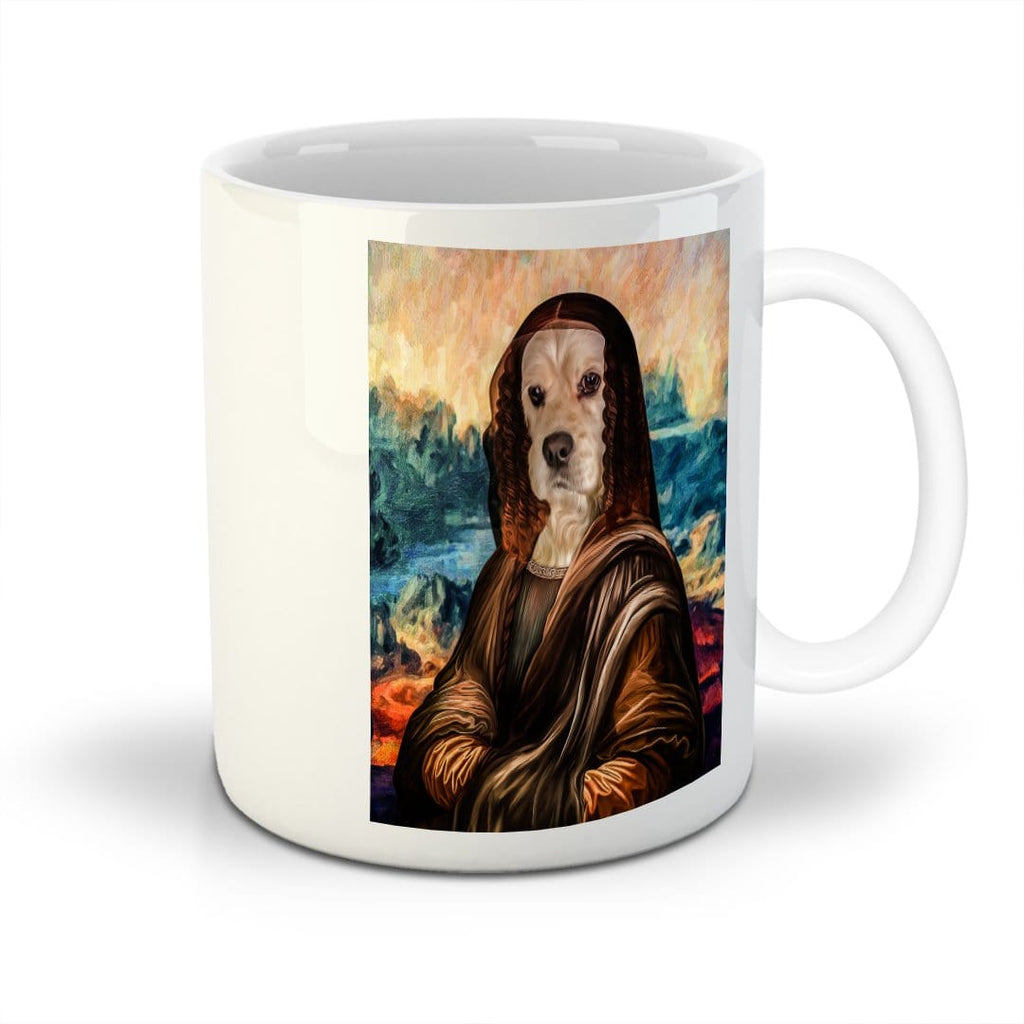 'Dogga Lisa' Custom Pet Mug