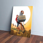 'Doggo-Terrestrial' Personalized Pet/Human Canvas