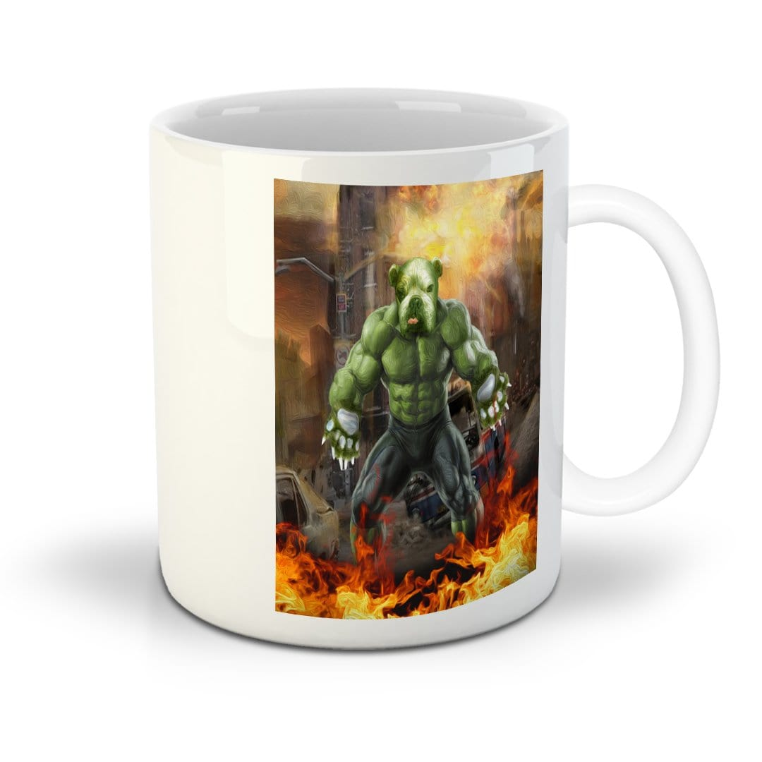 'Doggo Hulk' Personalized Mug