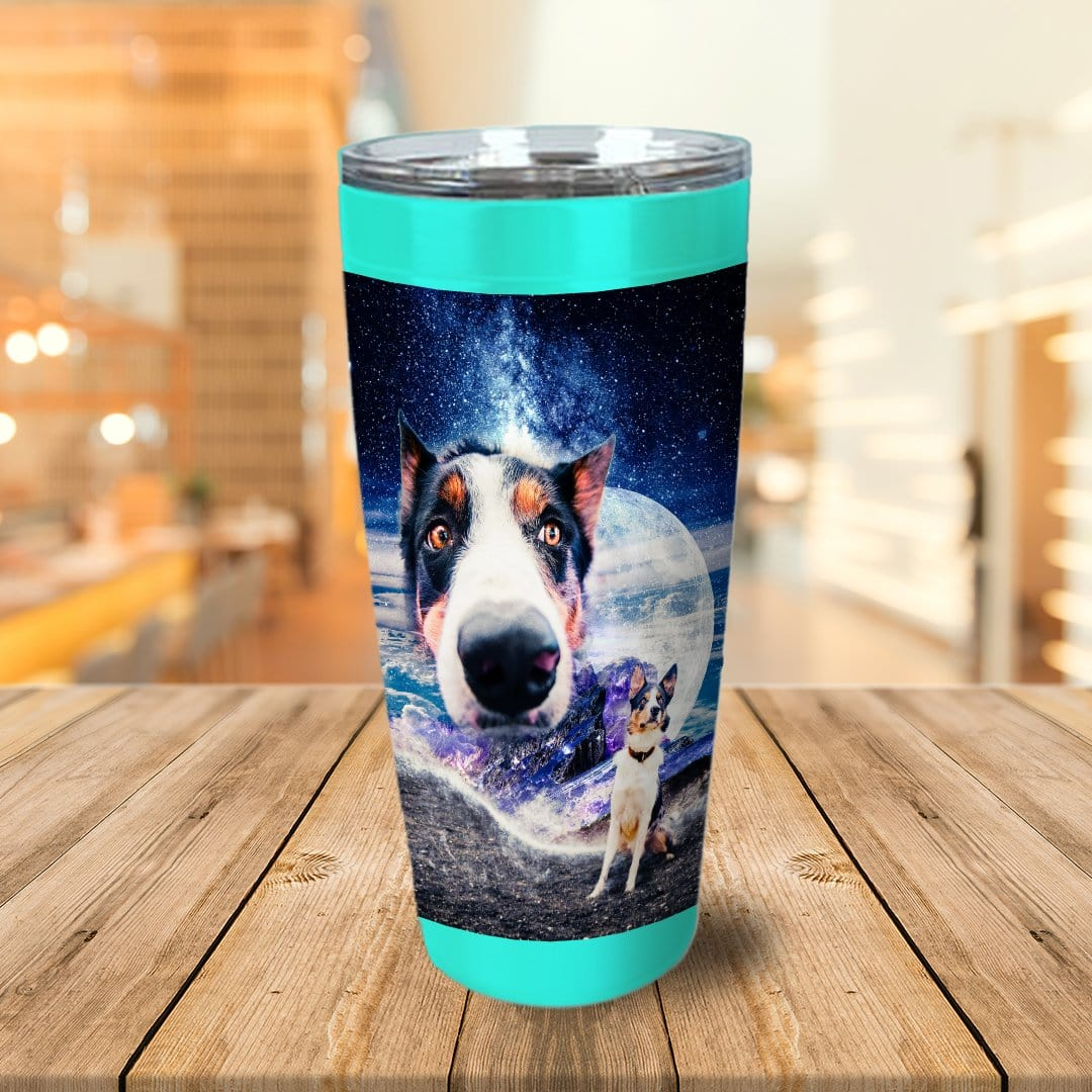 Doggo In Space Personalized Tumbler