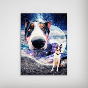 'Doggo in Space' Personalized Posters